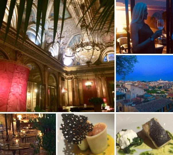 Novità' Gourmet: da oggi si cena sulla Terrazza Trinità dei Monti del Plaza