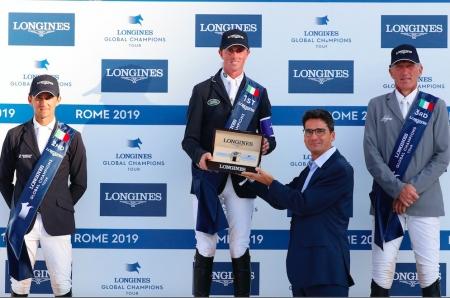 GRANDE SUCCESSO PER IL LONGINES GLOBAL CHAMPIONS TOUR DI ROMA