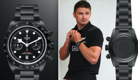 TUDOR celebra il rugby e gli All Blacks