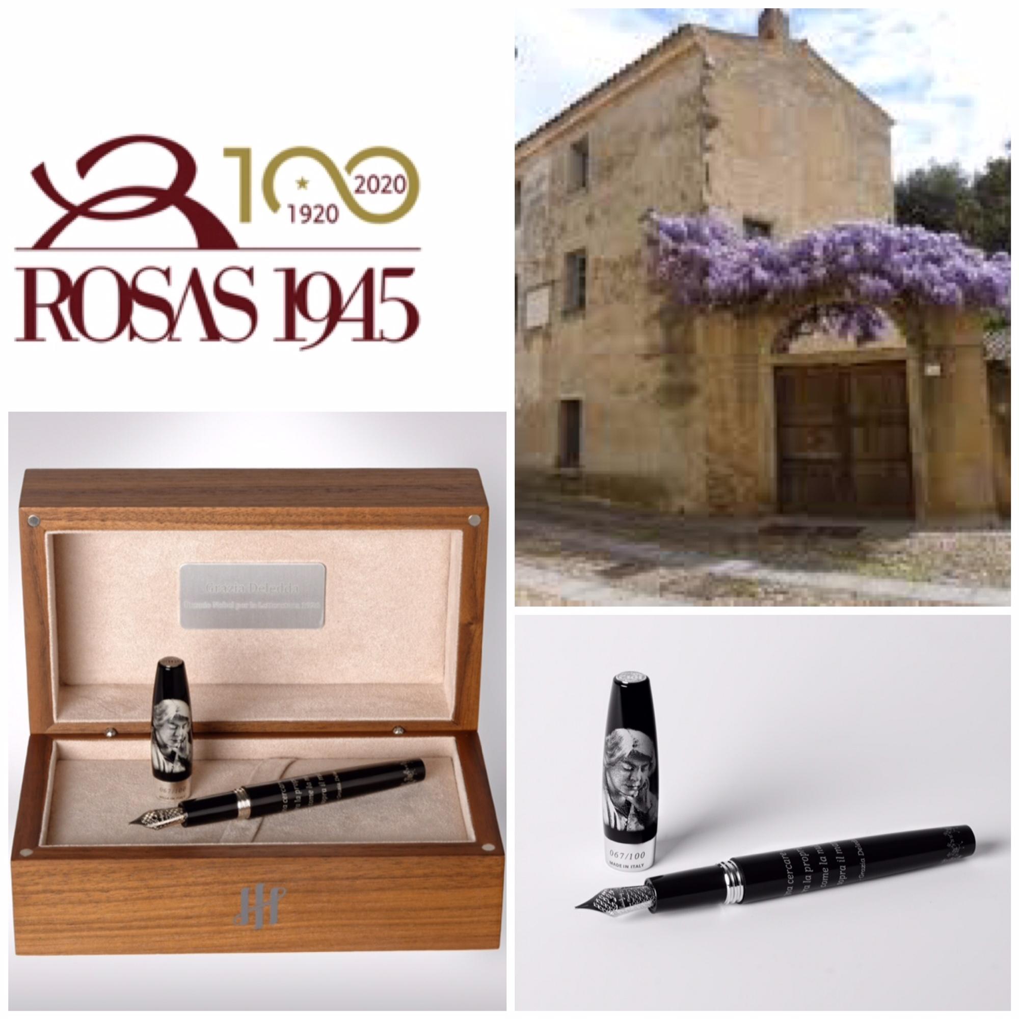 Rosas 1945 e Montegrappa: penna-tributo a Grazia Deledda