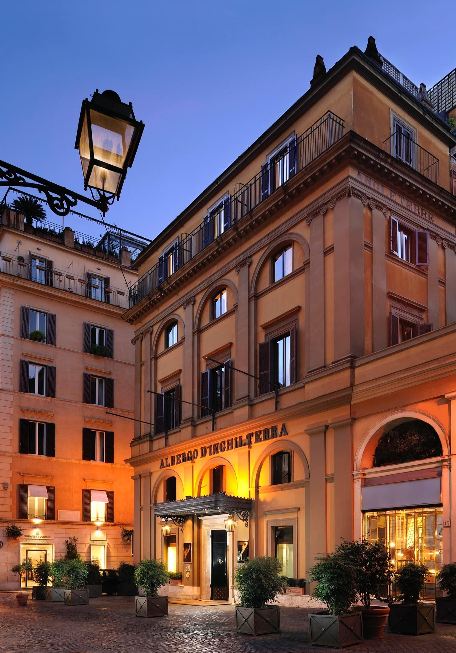 La grande bellezza dell'Hotel d'Inghilterra