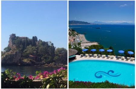 A Taormina o in Costiera la vista è da sogno