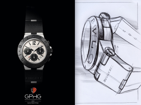 Bvlgari Aluminium Chronograph trionfa al Gran Prix d'Horlogerie de Geneve