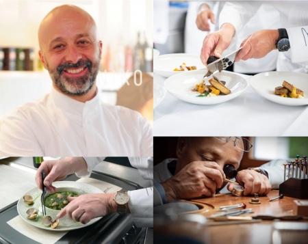 Premio Speciale Blancpain allo Chef Niko Romito