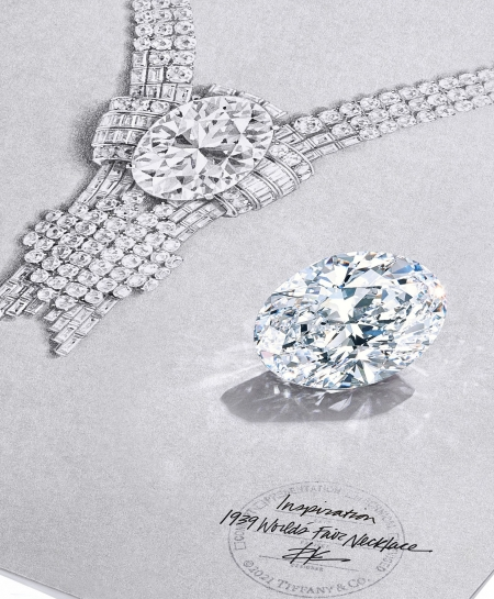 Un diamante da 80 carati per Tiffany