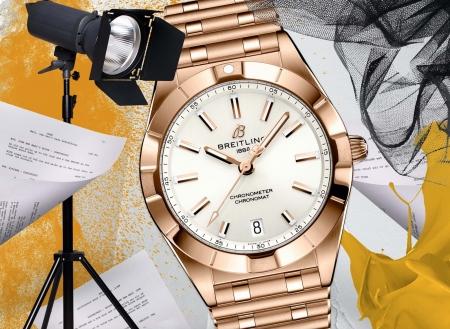 Breitling entra nel mondo interattivo della moda di lusso