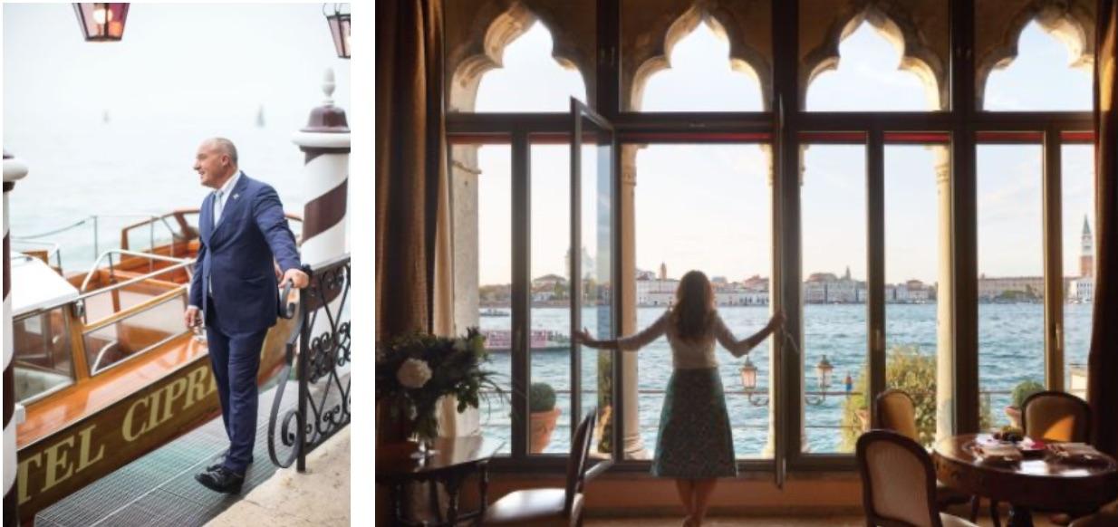 L'Hotel Cipriani di Venezia brilla di più