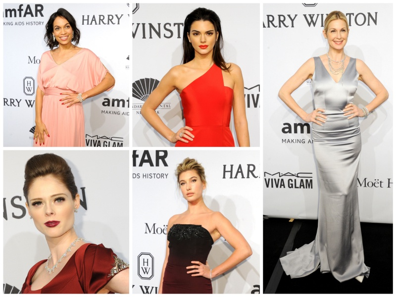 I GIOIELLI HARRY WINSTON RISPLENDONO ALL'amfAR NEW YORK GALA 2015