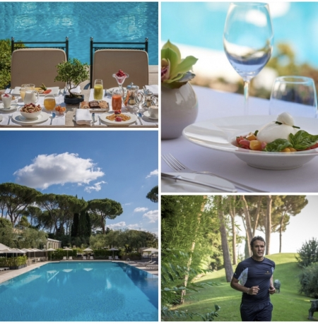 Staycation e picnic chic nel parco