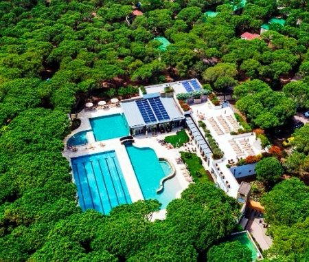 Green heart of Riva del Sole Resort & SPA