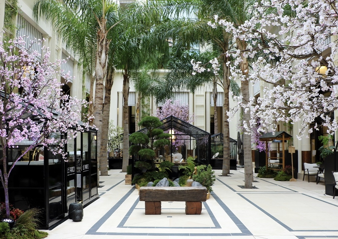 Cherry Blossom all'Hôtel de Paris Monte-Carlo