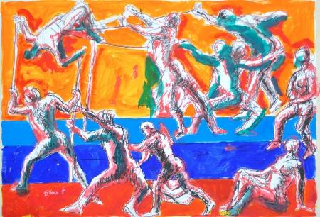L'arte di Dario Fo al Castello di Postignano