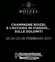 Sulle Dolomiti tra Champagne e acciughe