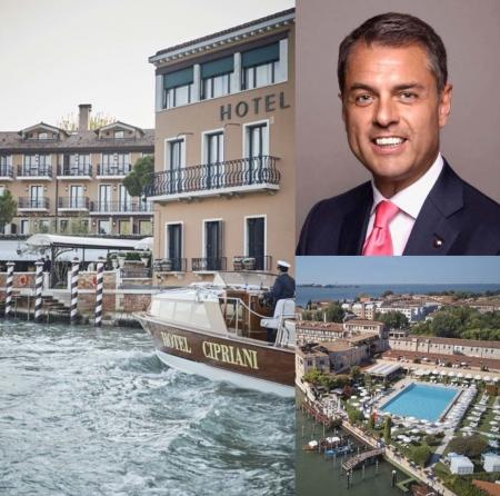 Nuovo Managing Director al Cipriani di Venezia