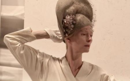 Tilda Swinton in Embodying Pasolini