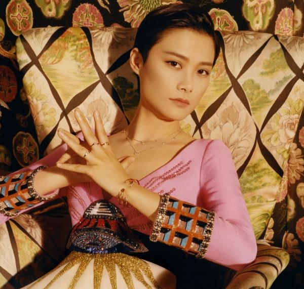 Chris Lee protagonista della nuova campagna Gucci