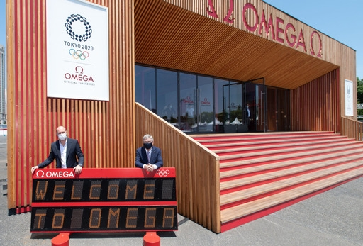 Omega è cronometrista Ufficiale di Tokyo 2020