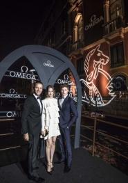 A Venezia con Omega e Eddie Redmayne