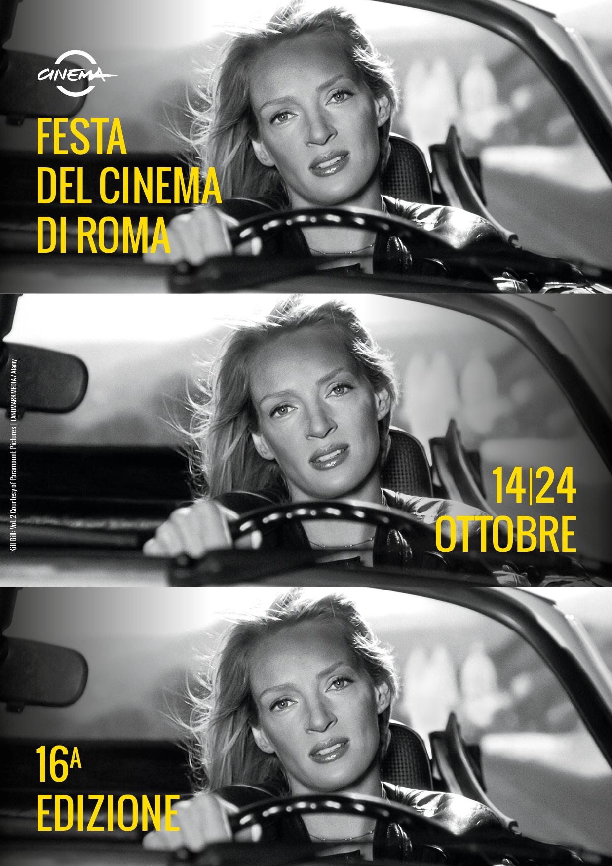 Uma Thurman e la 16esima Festa del Cinema di Roma