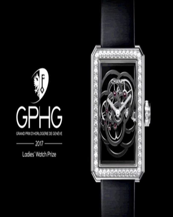 La Camelia di CHANEL vince il Grand Prix d'Haute Horlogerie