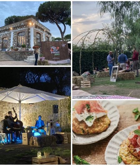Un elegante picnic en plein air per celebrare un'eccellenza italiana