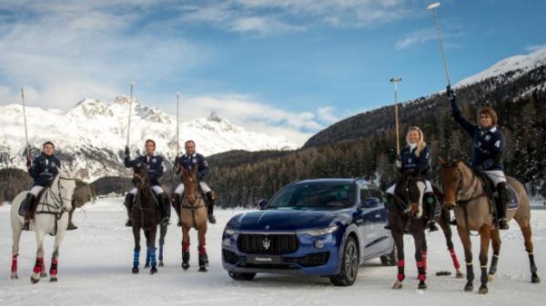 A St Moritz con Maserati e La Martina