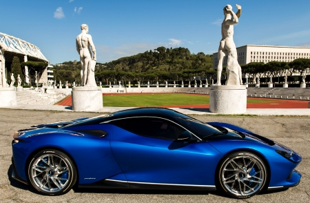 Battista Pininfarina debutta a Roma