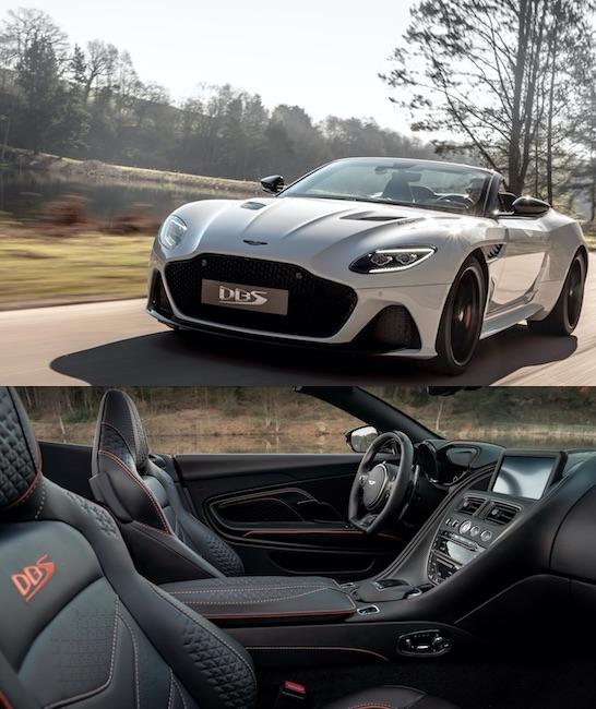 Aston Martin e la nuova DBS Superleggera Volante