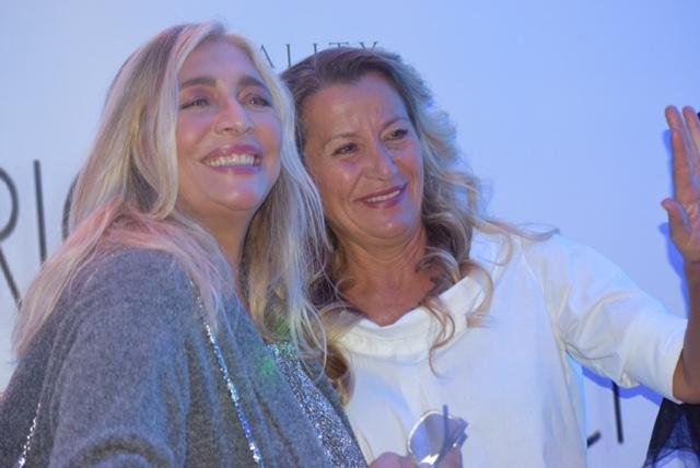 Mara Venier e Daniela Gallo Ricci