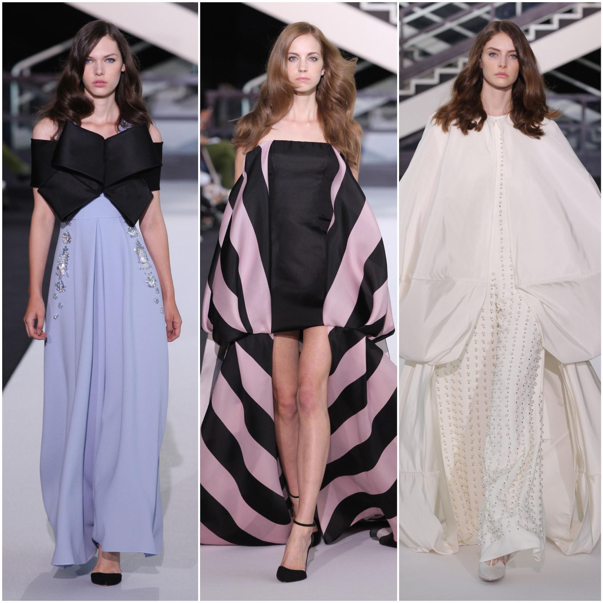 Ad aprire AltaRoma è stato Sarli Couture 724de90bd6c