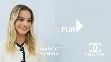 Chanel. Margot Robbie.